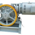 Single Speed Traction Machine YJF160WL VVVF