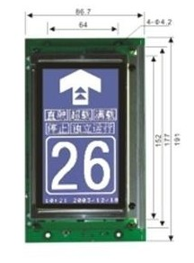 Micocontrol LCD Display DP003LA1